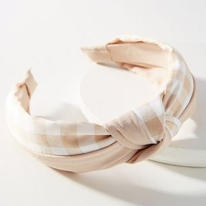 ANTHROPOLOGIE Pattern Play Knotted Headband